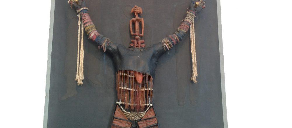 Detail de la sculpture ScareCrow