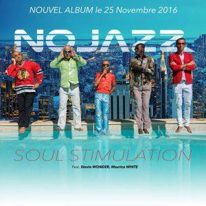 Nojazz pochette de l'album Soul Stimulation