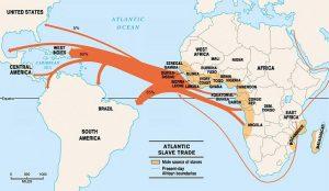 carte traite négrière