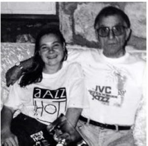 Astrid Bailo avec Joe Corinthio